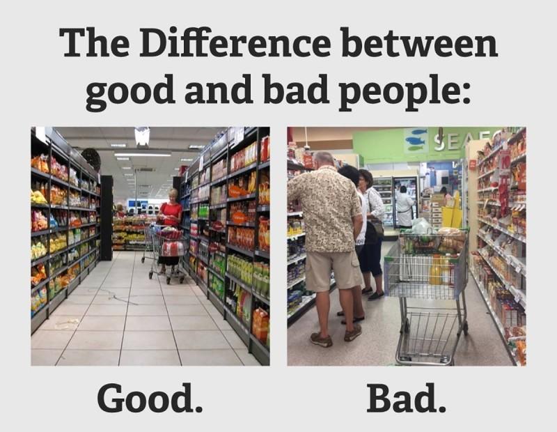 Supermarket annoyance
