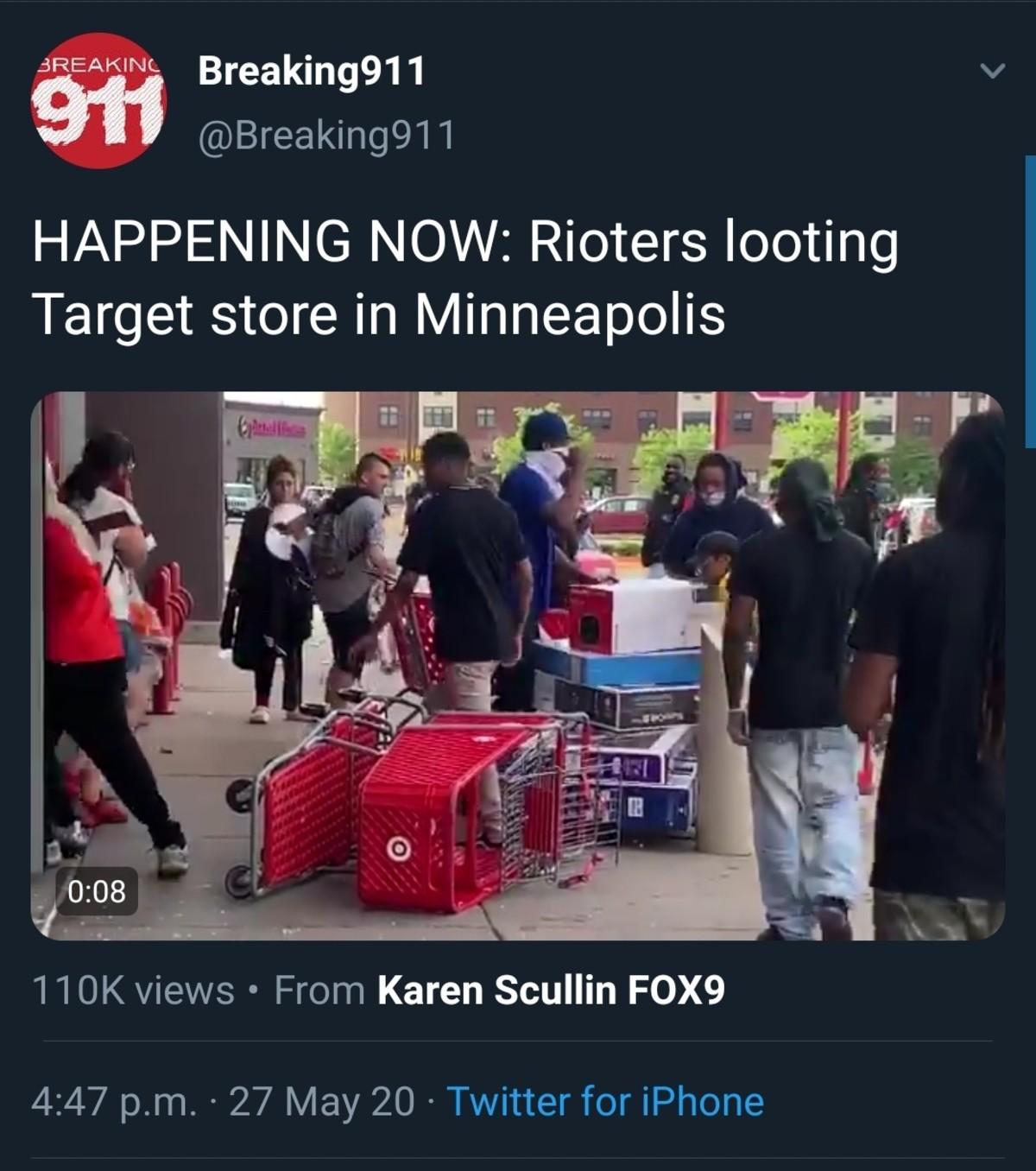 Target Has Fallen