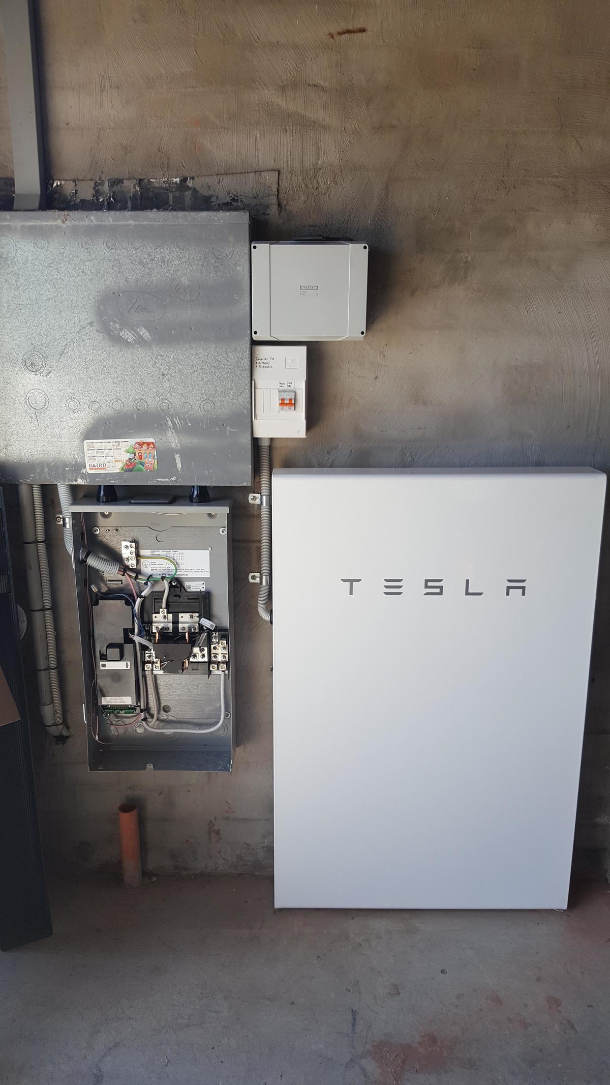 Tesla Powerwall 2 >> Tesla Powerwall 2 Install