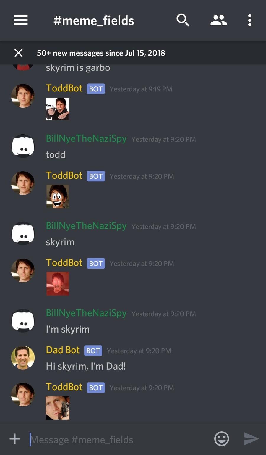 Testing Discord Bot