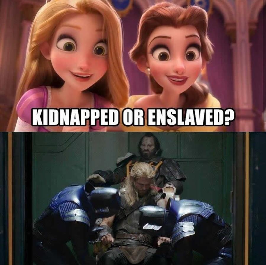 Thor Is A Disney Princess