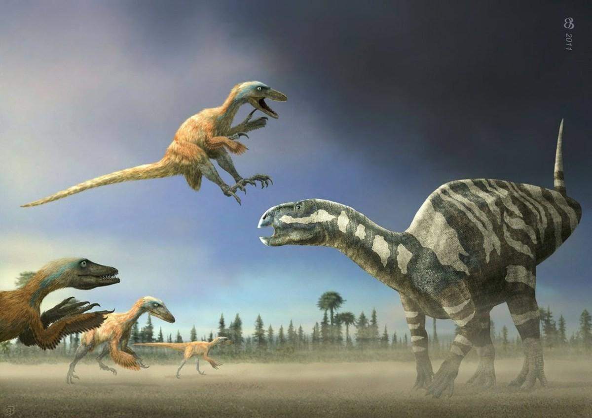 динозавр дейноних картинки первой попытки