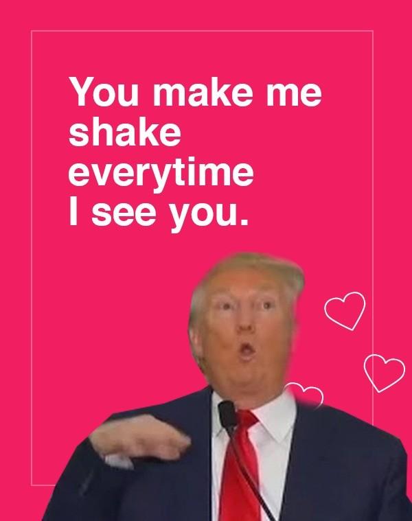 Trump Valentine S Day Cards