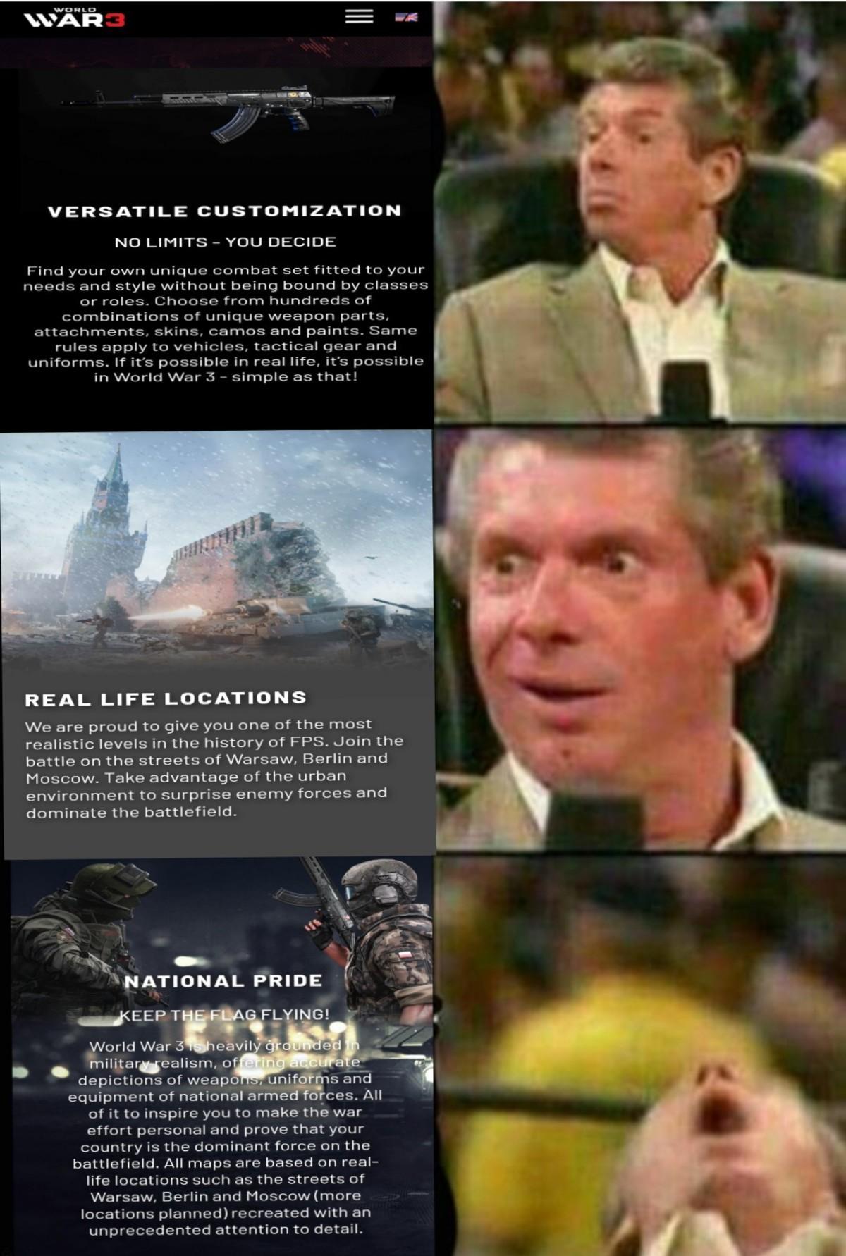 World war 3 plz be good